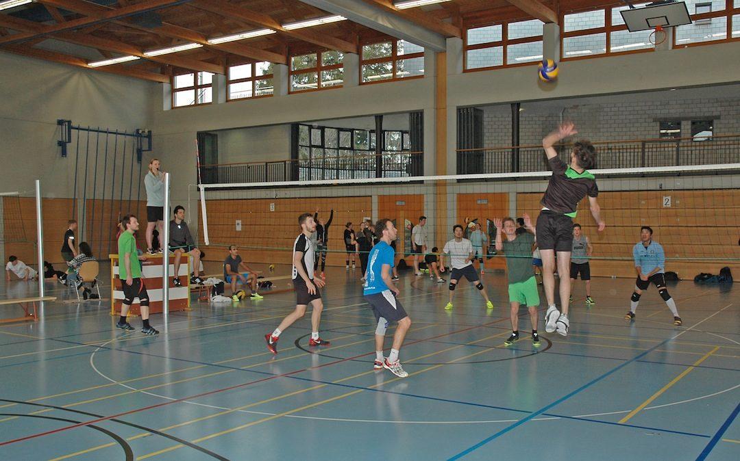 Teilnehmerrekord am Volleyballturnier in Gais