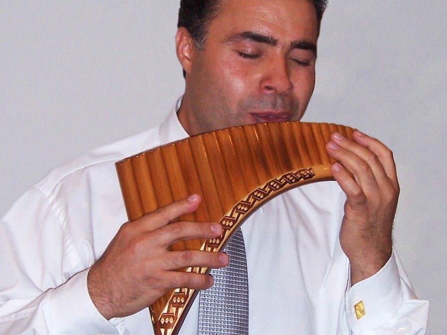 Panflötenkonzert zum ersten Advent in der FEG Gais