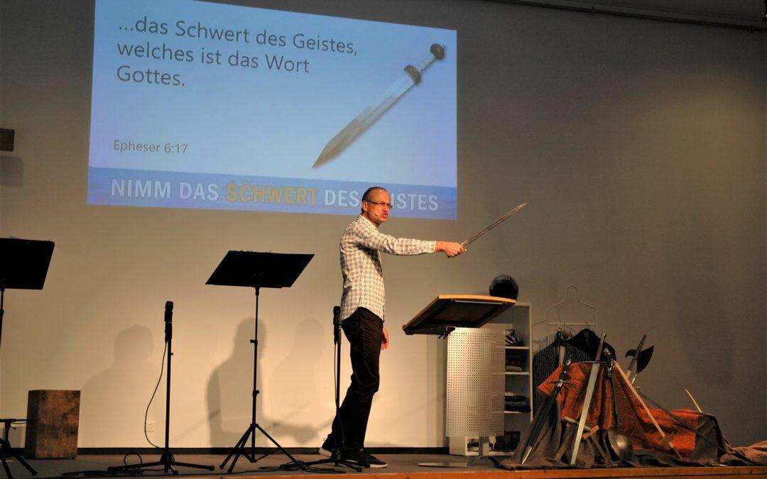 Das Schwert des Geistes – Tauf-Gottesdienst